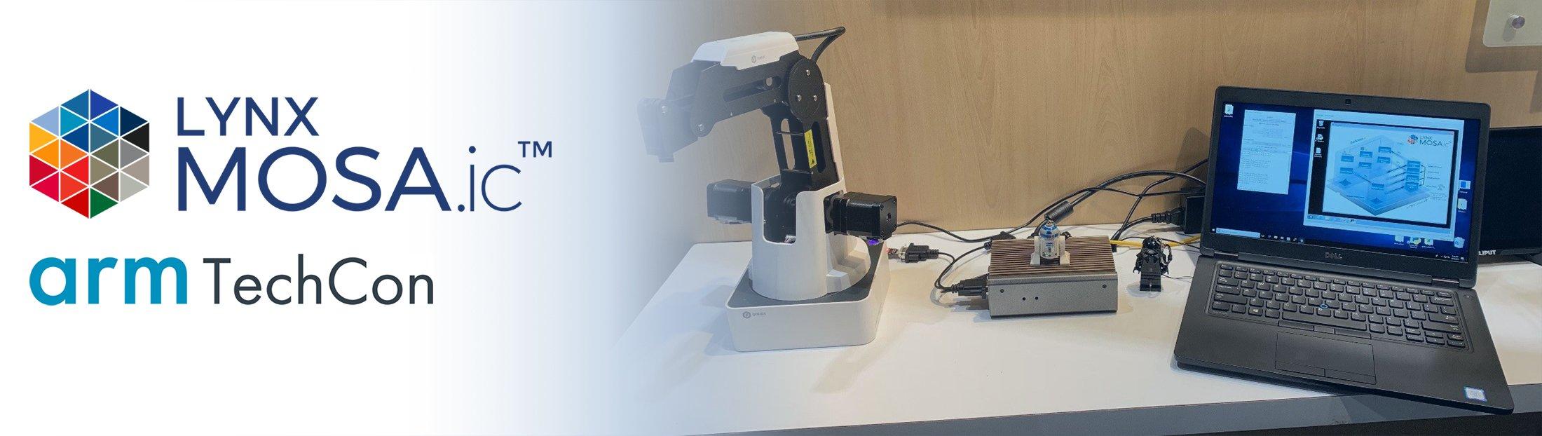 LYNX MOSA.ic™ Industrial Demo at Arm TechCon 03
