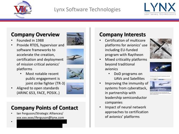 VLC slide Lynx